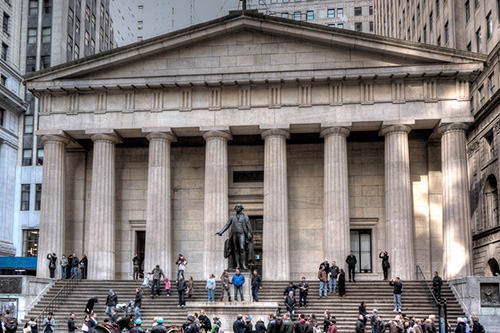 New York City archtectural photography Federal Hall.jpg